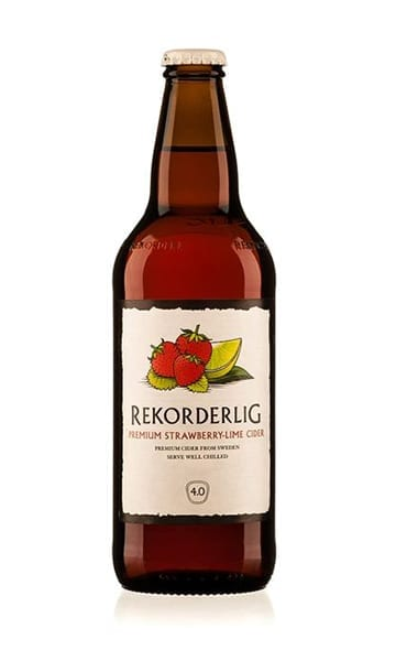 Rekorderlig Strawberry & Lime 500ml (Pack of 15) - Sky Wines home delivery
