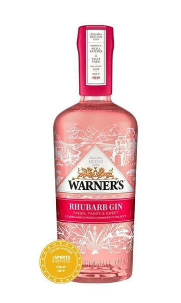 Warners Victoria's Rhubarb 70cl + Free Glass - Sky Wines home delivery