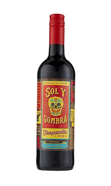 75cl Sol Y Sombra Tempranillo - Sky Wines home delivery