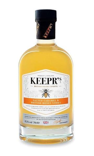Keepr's Salted Caramel & British Honey Vodka 70cl - Sky Wines home delivery