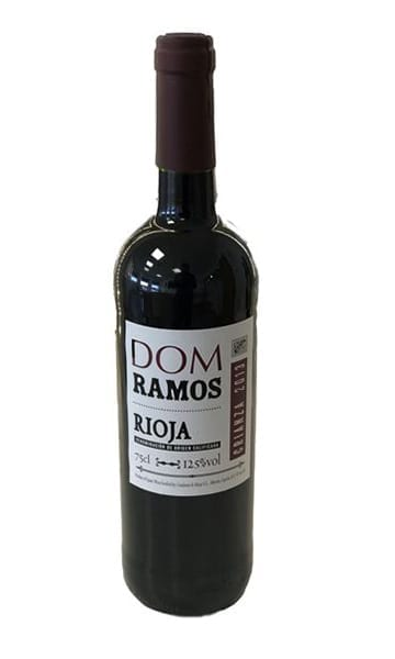75cl Dom Ramos Rioja Joven Tempranillo  - Sky Wines home delivery