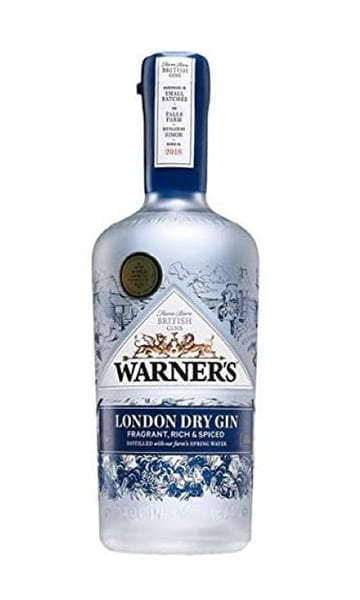Warners Harrington London Dry 70cl - Sky Wines home delivery