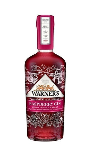 Warners Raspberry 70cl + Free Glass - Sky Wines home delivery