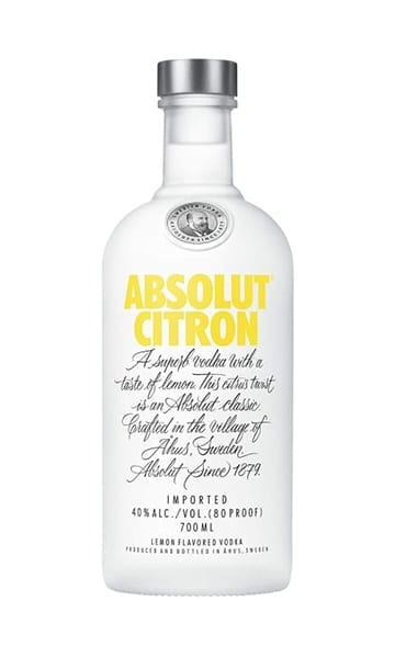 Absolut Citron 70cl - Sky Wines home delivery