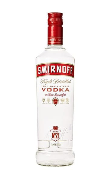 Smirnoff Red Label 70cl - Sky Wines home delivery