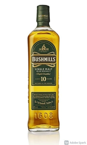 Bushmills 10yr 70cl - Sky Wines home delivery