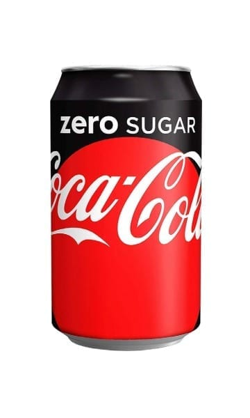Coca Cola Zero 330ml Can (Pack of 24) - Sky Wines home delivery