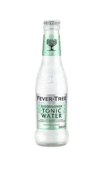 Fever-Tree Refreshingly Light Elderflower Tonic 200ml (Pack of 24) - Sky Wines home delivery