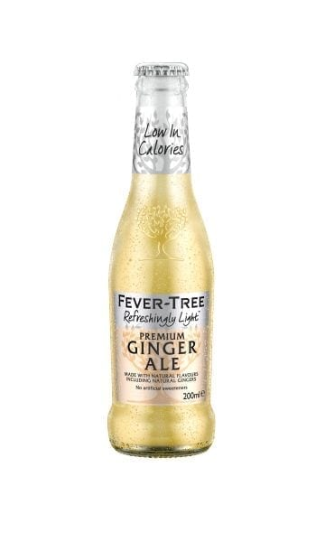 Fever-Tree Refreshingly Light Ginger Ale 200ml (Pack of 24) - Sky Wines home delivery