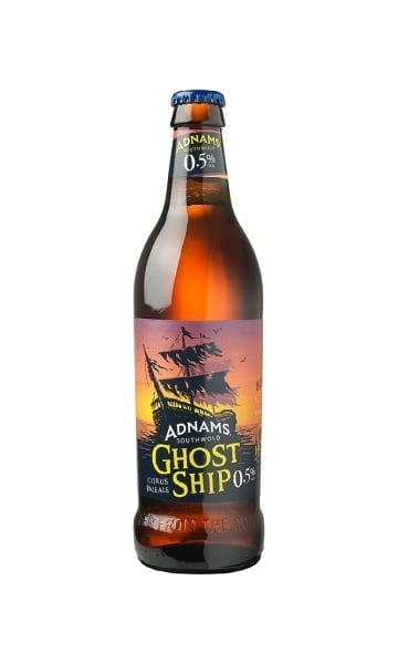 Adnams Ghost Ship Low-Alcohol 500ml (Pack of 8) - Sky Wines home delivery