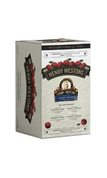 Henry Weston's 10ltr Cloudy Bag in Box Cider - Sky Wines home delivery