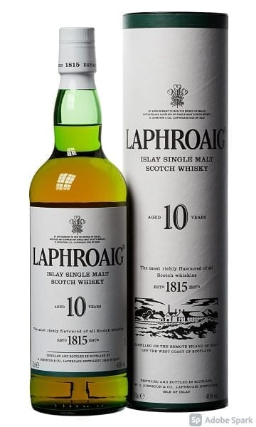 Laphroaig 10yr 70cl - Sky Wines home delivery