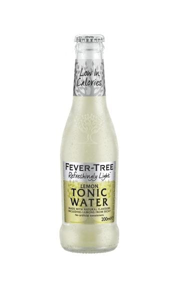 Fever-Tree Refreshingly Light Lemon Tonic 200ml (Pack of 24) - Sky Wines home delivery
