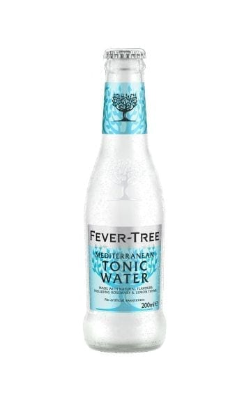 Fever-Tree Refreashingly Light Mediterranean Tonic 200ml (Pack of 24) - Sky Wines home delivery