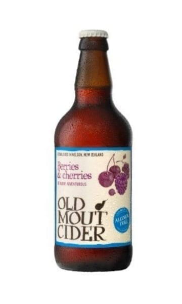 Old Mout Berries & Cherries Non-Alcohol 500ml (Pack of 12) - Sky Wines home delivery