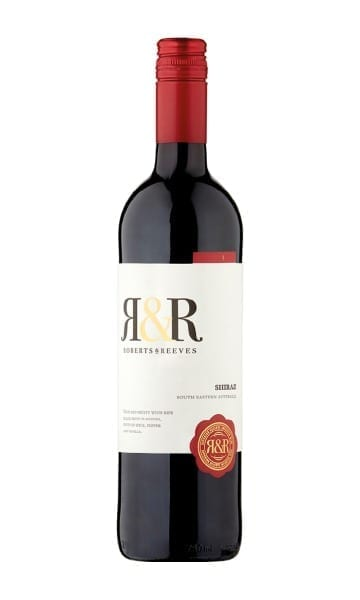 187ml Roberts & Reeves Shiraz (Pack of 12) - Sky Wines home delivery