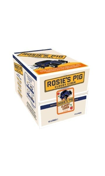 Rosie's Pig 10ltr Cloudy Bag in Box Cider - Sky Wines home delivery