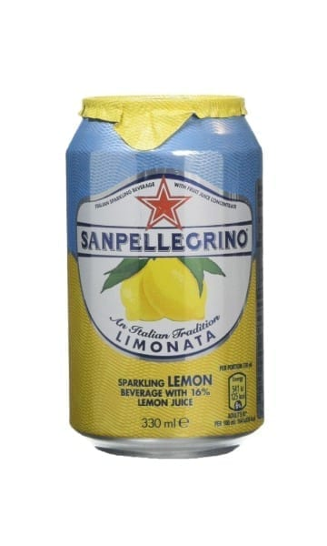 San Pellegrino Lemon 330ml Can (Pack of 24) - Sky Wines home delivery
