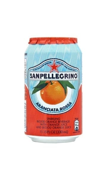 San Pellegrino Blood Orange 330ml Can (Pack of 24) - Sky Wines home delivery