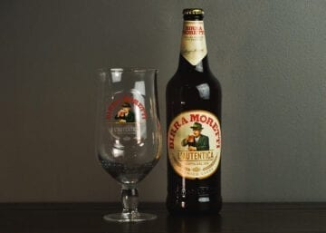 Moretti 660ml (Pack of 12) +2 free Glasses - Sky Wines home delivery