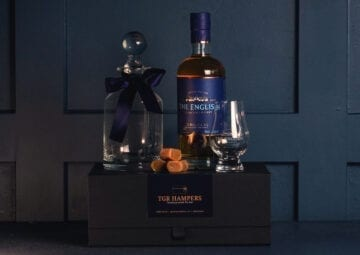 The English Whisky Company 70cl Hamper - Sky Wines home delivery