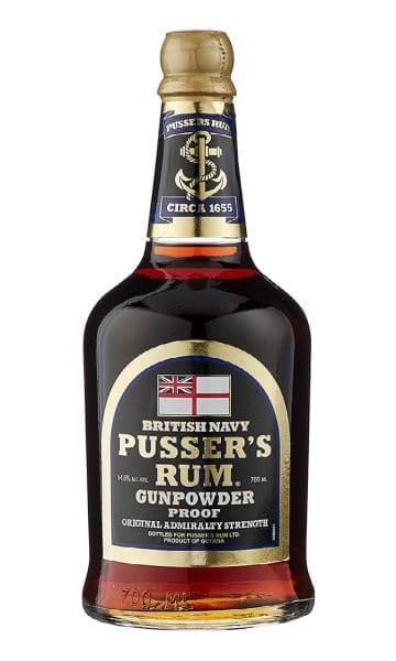 Pussers Gunpowder Proof Rum 70cl - Sky Wines home delivery