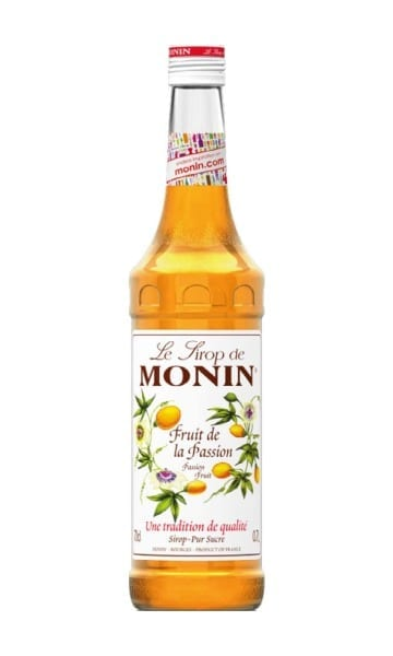 Monin Passionfruit Syrup 70cl - Sky Wines home delivery