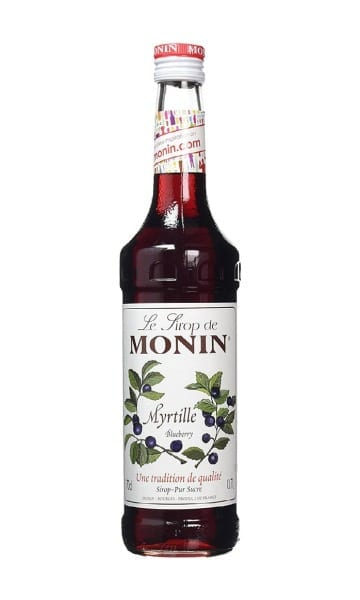 Monin Blueberry Syrup 70cl - Sky Wines home delivery
