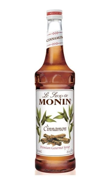 Monin Cinnamon Syrup 70cl - Sky Wines home delivery