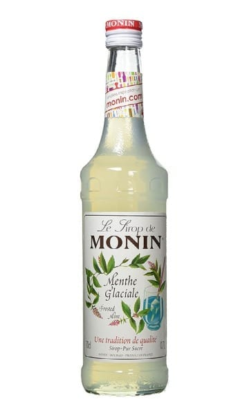 Monin Frosted Mint Syrup 70cl - Sky Wines home delivery