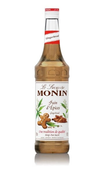 Monin Gingerbread Syrup 70cl - Sky Wines home delivery