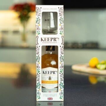 Keepr's Honey Gin Gift Box - Sky Wines home delivery