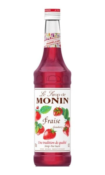 Monin Strawberry Syrup 70cl - Sky Wines home delivery
