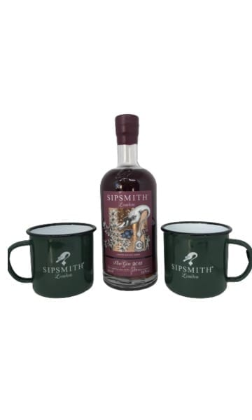 SipSmith Sloe Gin + 2 Mugs - Sky Wines home delivery