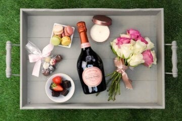 Laurent Perrier Champagne Hamper - Sky Wines home delivery