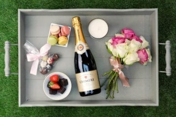Chimere Champagne Hamper - Sky Wines home delivery