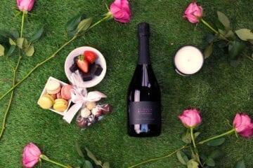 Rose Prosecco Hamper - Sky Wines home delivery
