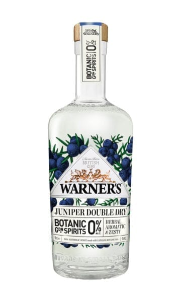 Warners 0% Juniper Double Dry Gin 70cl - Sky Wines home delivery