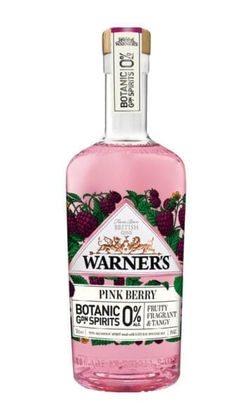 Warners 0% Pink Berry Gin 70cl - Sky Wines home delivery