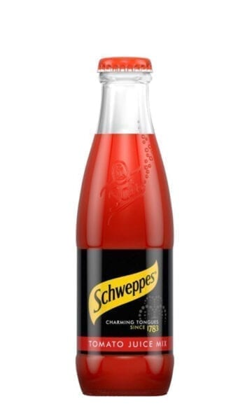Schweppes Tomato Juice 200ml x24 - Sky Wines home delivery