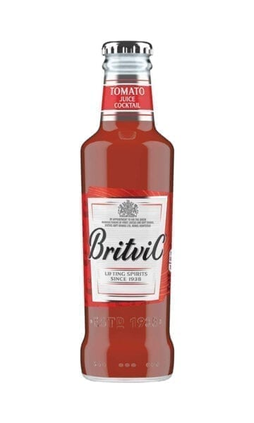 Britvic Tomato Juice 200ml x24 - Sky Wines home delivery