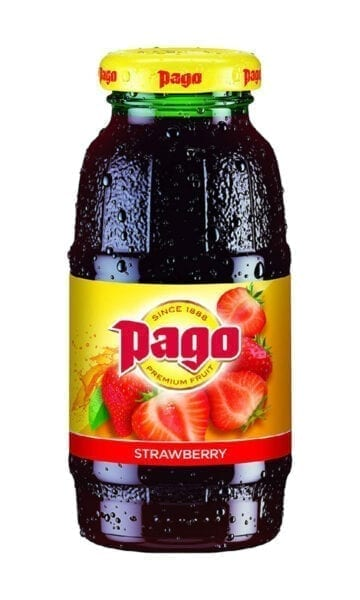 Pago Strawberry Juice 200ml x12 - Sky Wines home delivery