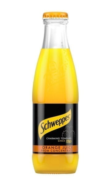 Schweppes Orange Juice 200ml x24 - Sky Wines home delivery