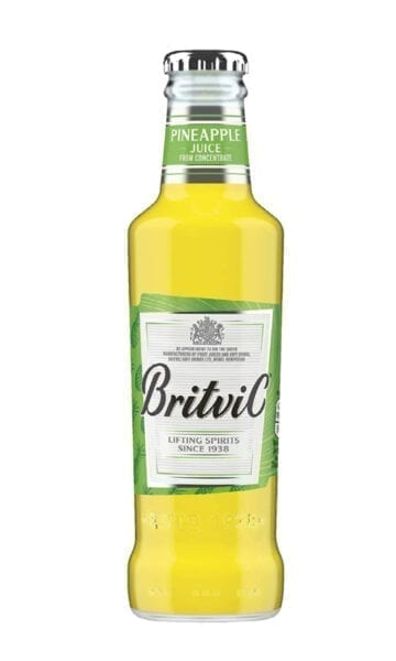 Britvic Pineapple Juice 200ml x24 - Sky Wines home delivery